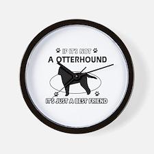 Otterhound designs Wall Clock