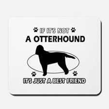 Otterhound designs Mousepad