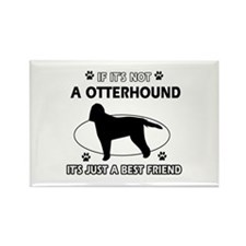 Otterhound designs Rectangle Magnet