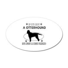 Otterhound designs Wall Decal
