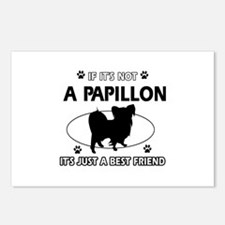 Papillon designs Postcards (Package of 8)