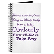 Taking Candy ~ Journal