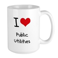 I Love Public Utilities Mug