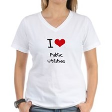 I Love Public Utilities T-Shirt
