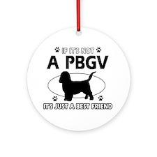 PBGV designs Ornament (Round)