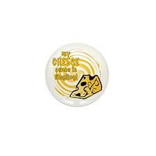 Cheese Sense Tingling Mini Button