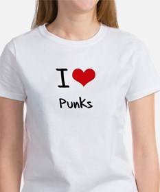 I Love Punks T-Shirt