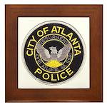 Atlanta Police Framed Tile