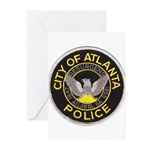 Atlanta Police Greeting Cards (Pk of 10)