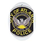 Atlanta Police Oval Ornament