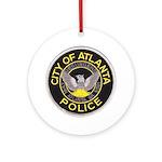 Atlanta Police Ornament (Round)