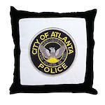 Atlanta Police Throw Pillow