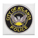 Atlanta Police Tile Coaster