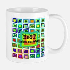 Retired Secretary pillow 5 Mug