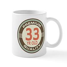33rd Birthday Vintage Mug