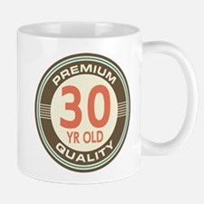 30th Birthday Vintage Mug
