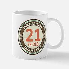 21st Birthday Vintage Mug