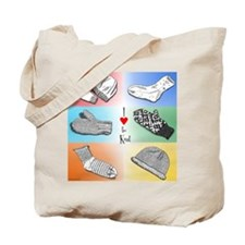 I heart to knit Tote