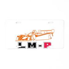 Superlite LMP White Aluminum License Plate