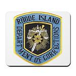 Rhode Island Corrections Mousepad