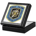 Rhode Island Corrections Keepsake Box