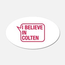 I Believe In Colten Wall Decal