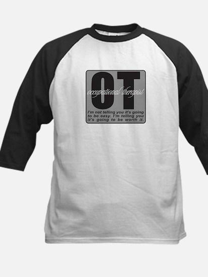 OT/Occupational Therapist Kids Baseball Jersey