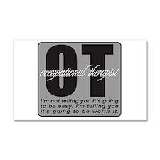 OT/Occupational Therapist Car Magnet 20 x 12