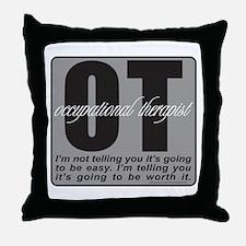 OT/Occupational Therapist Throw Pillow