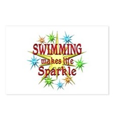 Swimming Sparkles Postcards (Package of 8)