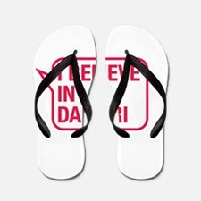 I Believe In Damari Flip Flops