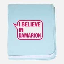 I Believe In Damarion baby blanket