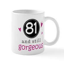 Funny 81st Birthday Mug