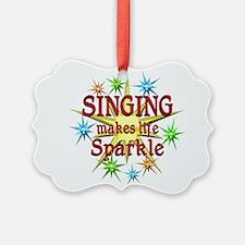Singing Sparkles Ornament