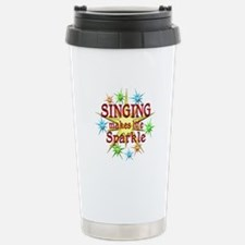 Singing Sparkles Travel Mug