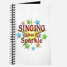 Singing Sparkles Journal