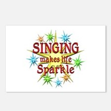 Singing Sparkles Postcards (Package of 8)