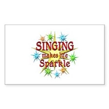 Singing Sparkles Decal