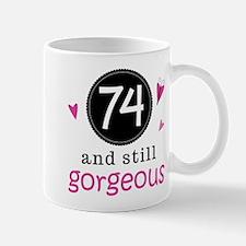 Funny 74th Birthday Mug
