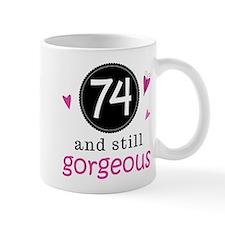 Funny 74th Birthday Small Mug