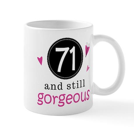 Funny 71st Birthday Mug