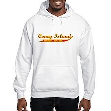 Coney Island Baseball-Style Hoodie