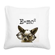 E=MC2 Square Canvas Pillow