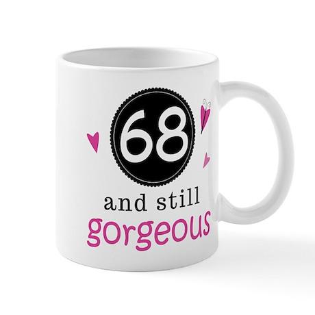 Funny 68th Birthday Mug