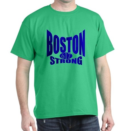 Boston Strong 617 Dark T-Shirt