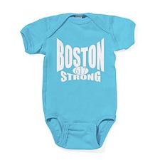 Boston Strong 617 Baby Bodysuit