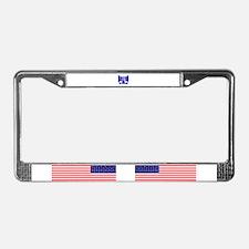 Boston Strong 617 License Plate Frame