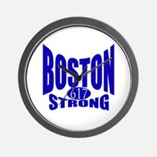 Boston Strong 617 Wall Clock