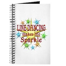 Line Dancing Sparkles Journal