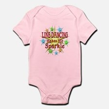 Line Dancing Sparkles Infant Bodysuit